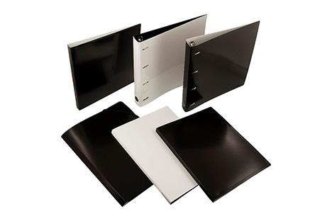 новая коллекция папок ТМ «Бюрократ» Black&White